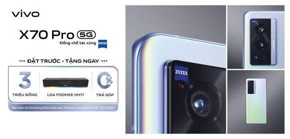 vivo X70 Pro với camera ZEISS kết hợp chống rung Gimbal 3.0 ảnh 3