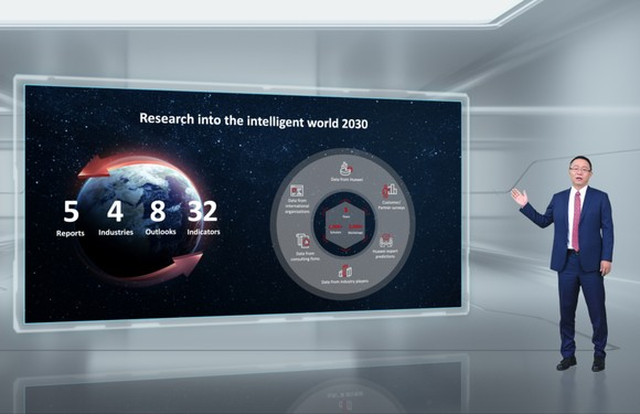 """David Wang công bố về """"Thế giới Thông minh 2030"""""""