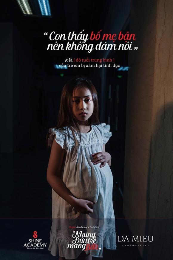 Những đứa trẻ mang bầu - Bộ ảnh gây rúng động về xâm hại trẻ em ảnh 5