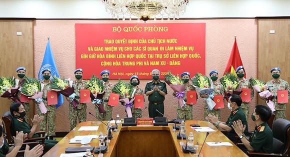 Thêm 10 sĩ quan Việt Nam tham gia sứ mệnh Gìn giữ hòa bình Liên hợp quốc