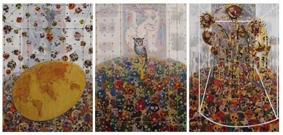 'Màu dân tộc' trong những tác phẩm đương đại của họa sĩ Bùi Thanh Tâm ảnh 1