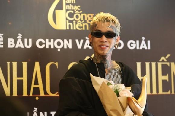 Rap Việt bùng nổ với 3 giải thưởng Âm nhạc Cống hiến 2021 ảnh 1