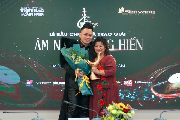 Rap Việt bùng nổ với 3 giải thưởng Âm nhạc Cống hiến 2021 ảnh 2