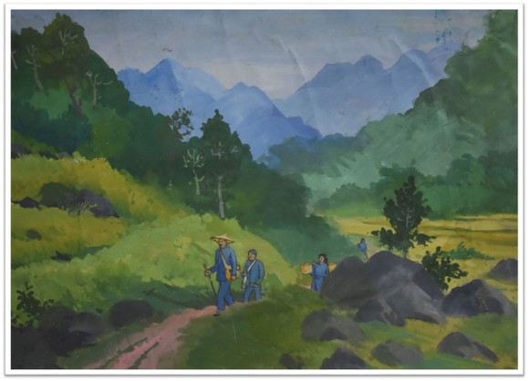 """Giới thiệu 18 tác phẩm mỹ thuật trong triển lãm trực tuyến """"Con đường độc lập"""" ảnh 3"""