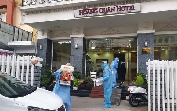 林同省職能部門在該患者曾下榻的酒店進行消毒。