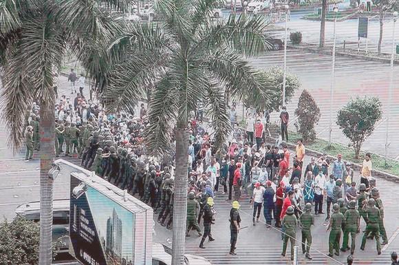 Hơn 4.000 người tham gia diễn tập chống khủng bố ở TPHCM ảnh 2