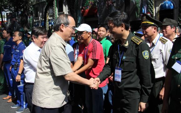 Hơn 4.000 người tham gia diễn tập chống khủng bố ở TPHCM ảnh 13