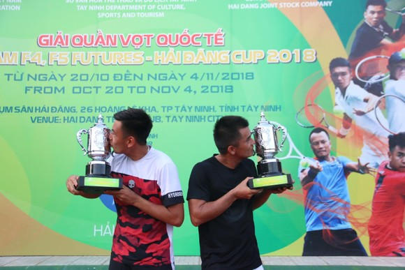 Đôi Lê Quốc Khánh và Lý Hoàng Nam nhiều khả năng bỏ cuộc giải 1.