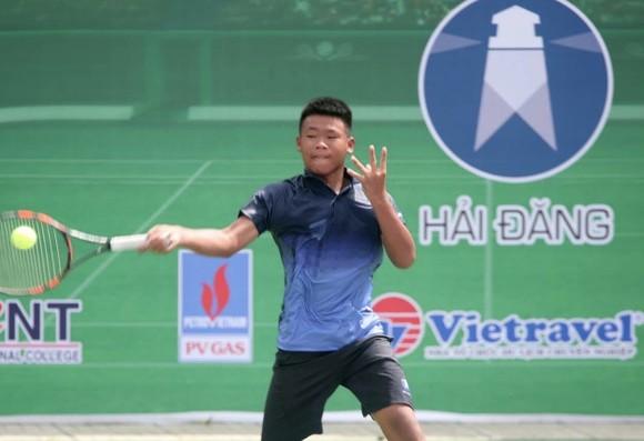 """Hai tay vợt nhí của Hải Đăng """"gây sốc"""" ở giải quần vợt vô địch quốc gia ảnh 1"""