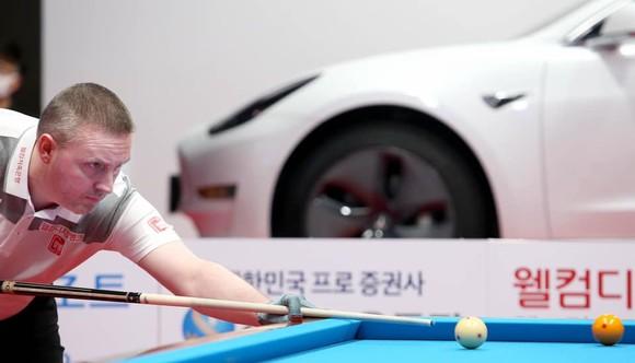 """Mã Minh Cẩm đánh rơi chiến thắng trước """"thiên tài"""" Caudron ở giải Billiards PBA Hàn Quốc ảnh 2"""