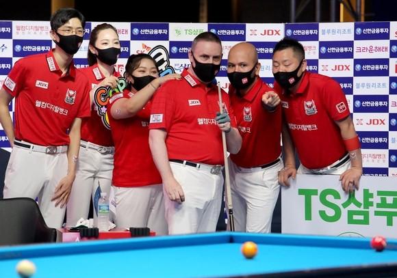 Đội của Mã Minh Cẩm vô địch giải Billiards PBA Team League ảnh 2