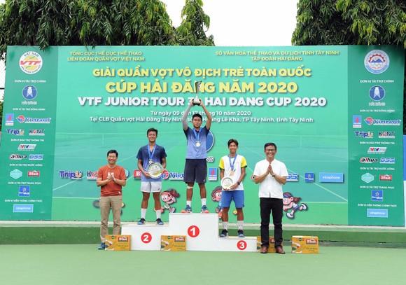 Minh Đức ngoạn mục giành chức vô địch U18 giải quần vợt VTF Junior Tour 3 – Hải Đăng Cup 2020  ảnh 2