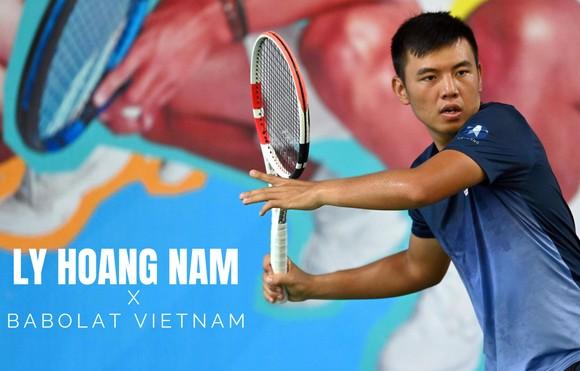 Tay vợt Lý Hoàng Nam.