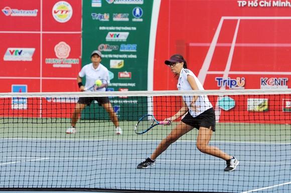 """Đòi nợ """"Vua đánh đôi"""", Lý Hoàng Nam cùng Trịnh Linh Giang lên ngôi giải quần vợt vô địch quốc gia ảnh 3"""