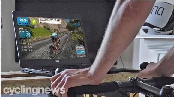 Đua xe đạp thực tế ảo cũng gian lận  ảnh 1