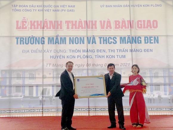 PV GAS tài trợ 12 tỷ đồng xây dựng 2 trường học tại Kon Tum ảnh 1