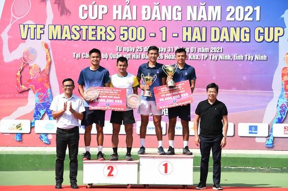 Lý Hoàng Nam tái đấu Trịnh Linh Giang ở trận chung kết giải quần vợt VTF Masters 500 – Hải Đăng Cúp ảnh 2