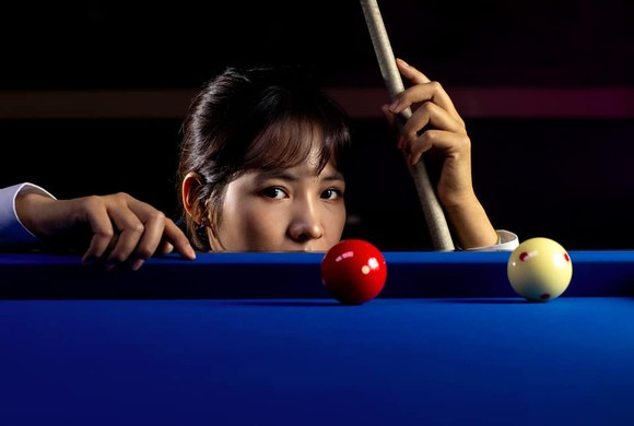 Mỹ nhân Billiards Campuchia Srong Pheavy gia nhập giải LPBA Hàn Quốc ảnh 2