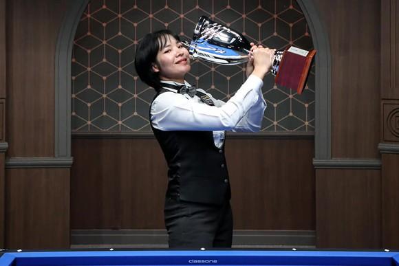Mỹ nhân Billiards Campuchia Srong Pheavy gia nhập giải LPBA Hàn Quốc ảnh 1
