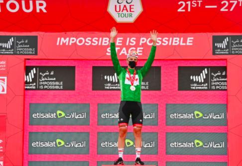 Tadej Pogacar quá mạnh lấy lại áo xanh để hoàn thành cú hattrick giải xe đạp UAE ảnh 3