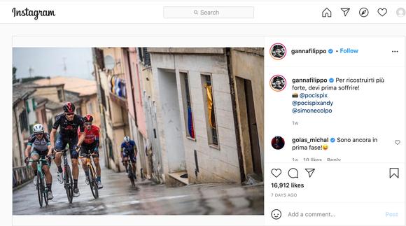 """""""Thần gió"""" Filippo Ganna phản pháo những lời chỉ trích chiến thuật của đội Ineos Grenadiers ảnh 1"""