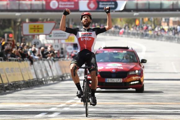 Đội Ineos Grenadiers có chiến thắng lịch sử tại giải xe đạp Volta a Catalunya 2021 ảnh 1