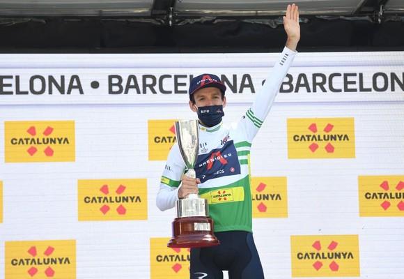 Đội Ineos Grenadiers có chiến thắng lịch sử tại giải xe đạp Volta a Catalunya 2021 ảnh 2