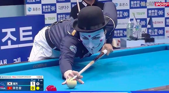 Mã Minh Cẩm đánh bại Hacker tại giải Billiards PBA Tour Hàn Quốc ảnh 1