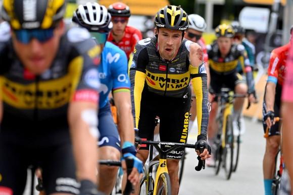 """Nhiều """"Ứng viên"""" bị tai nạn ở chặng 3 giải xe đạp Tour de France ảnh 1"""