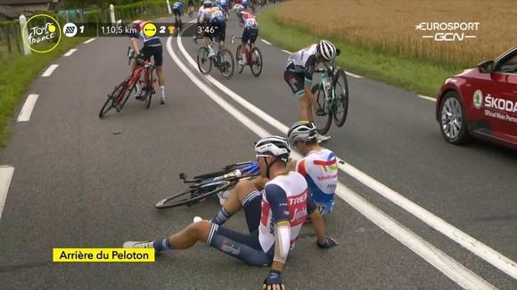Mark Cavendish lần thứ ba thắng chặng gia tăng khoảng cách Áo xanh ảnh 1