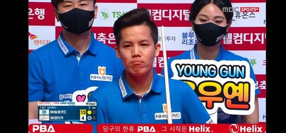 Nguyễn Huỳnh Phương Linh cùng Green Force có chiến thắng ấn tượng ở giải Billiards PBA Team League ảnh 1