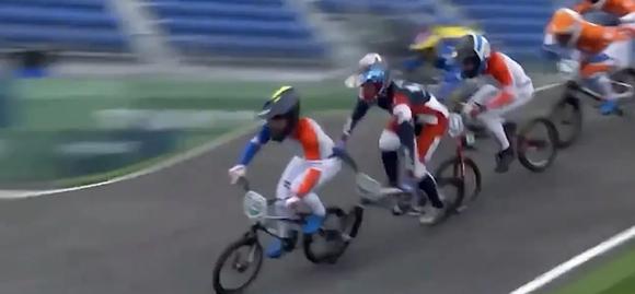 Đương kim vô địch xe đạp BMX bị tai nạn cấp cứu, mất cơ hội bảo vệ danh hiệu ảnh 1