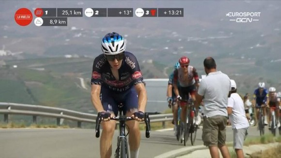 Primoz Roglic mất áo đỏ sau chặng đua đầy kịch tính ảnh 2