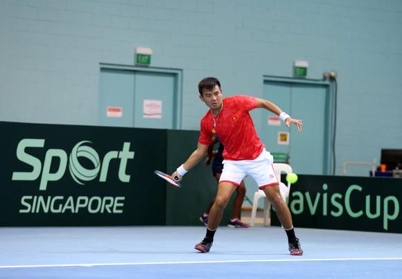 Lý Hoàng Nam giúp đội tuyển Việt Nam vào tranh suất thăng hạng giải quần vợt Davis Cup ảnh 2