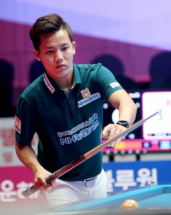 """""""Young Gun"""" Nguyễn Huỳnh Phương Linh bùng nổ vào tứ kết giải Billiards PBA Hàn Quốc ảnh 2"""