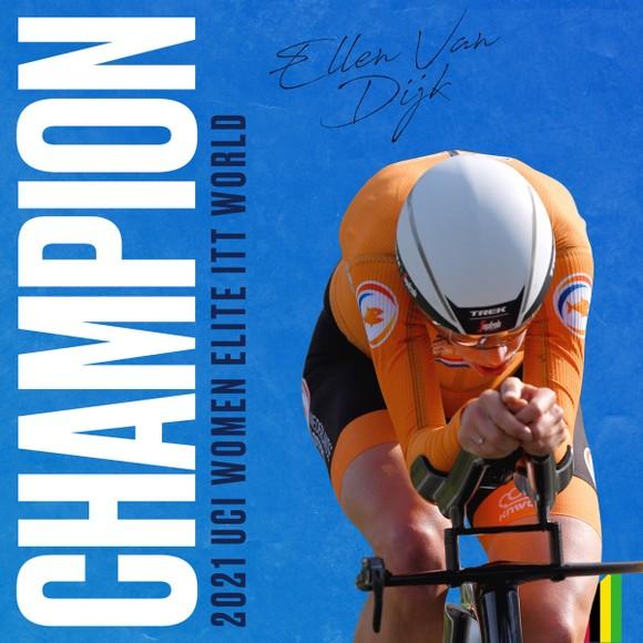 Nữ tay đua 34 tuổi Ellen van Dijk chạy cá nhân tính giờ hơn 50,3km/h ảnh 4