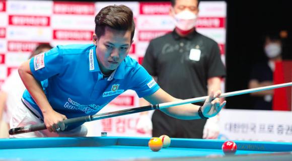 """""""Young Gun"""" Phương Linh gây chấn động khi lọt vào bán kết giải Billiards PBA Hàn Quốc tranh 2 tỷ đồng tiền thưởng ảnh 1"""