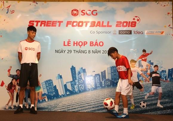 Giải bóng đá đường phố - SCG 2018  ảnh 1