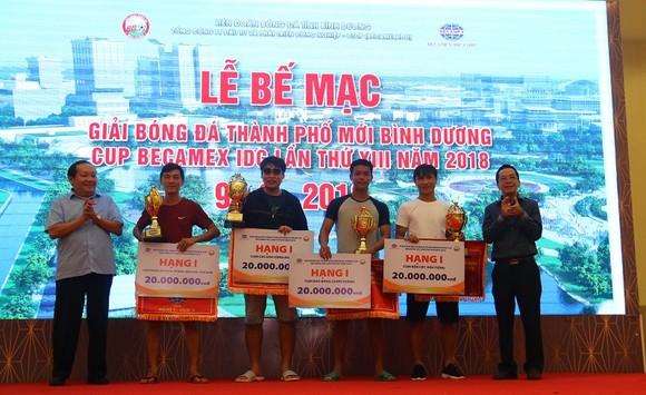 Bình Hòa-TPK lần thứ 3 liên tiếp vô địch giải bóng đá Thành phố mới Bình Dương ảnh 1