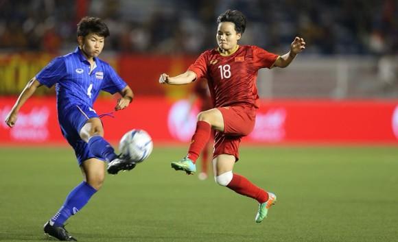 Nữ Việt Nam - Nữ Thái Lan 1-0: Bảo vệ thành công ngôi Hậu ảnh 3