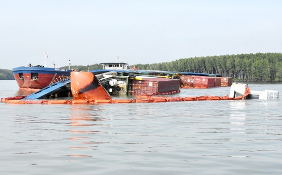 Nạo vét luồng cho tàu có mớn nước 9,5m qua khu vực chìm tàu ở Cần Giờ ảnh 8