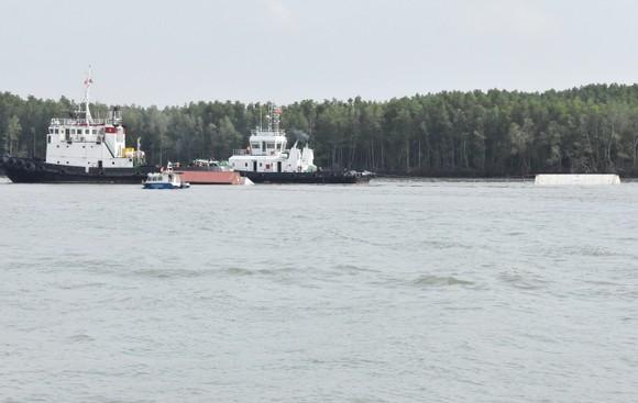 Nạo vét luồng cho tàu có mớn nước 9,5m qua khu vực chìm tàu ở Cần Giờ ảnh 9