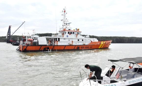Nạo vét luồng cho tàu có mớn nước 9,5m qua khu vực chìm tàu ở Cần Giờ ảnh 12