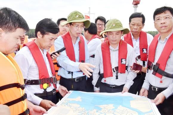Nạo vét luồng cho tàu có mớn nước 9,5m qua khu vực chìm tàu ở Cần Giờ ảnh 5
