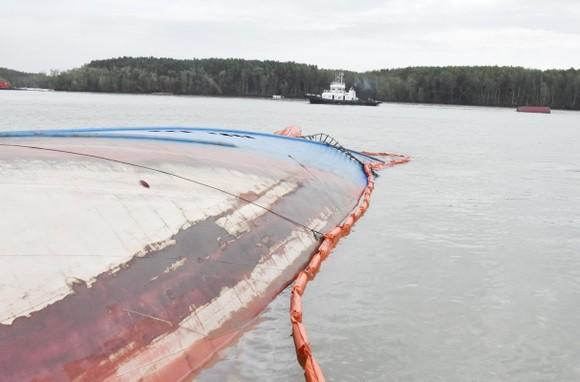 Nạo vét luồng cho tàu có mớn nước 9,5m qua khu vực chìm tàu ở Cần Giờ ảnh 10