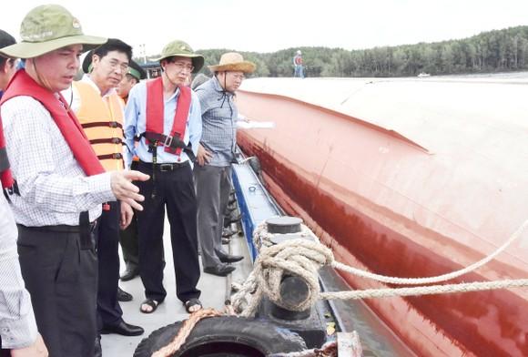 Nạo vét luồng cho tàu có mớn nước 9,5m qua khu vực chìm tàu ở Cần Giờ ảnh 6