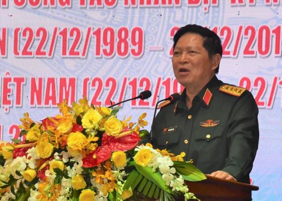 Bộ Quốc phòng Gặp mặt cán bộ cao cấp Quân đội nghỉ hưu khu vực phía Nam ảnh 1