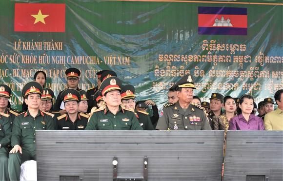 Việt Nam – Campuchia diễn tập cứu hộ, cứu nạn khu vực biên giới đất liền   ảnh 1