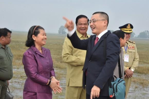 Việt Nam – Campuchia diễn tập cứu hộ, cứu nạn khu vực biên giới đất liền   ảnh 5