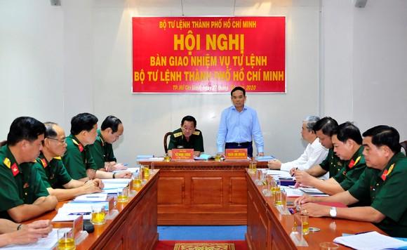Thiếu tướng Nguyễn Văn Nam giữ chức Tư lệnh Bộ Tư lệnh TPHCM ảnh 3